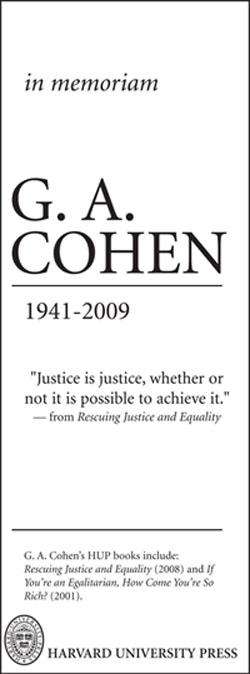 Cohen in memoriam