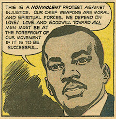 the importance of nonviolent resistance according to martin luther king jr For whom did martin luther king jr craft his letter titled letter from birmingham jail who want to end segregation but do not have a nonviolent way of.