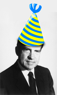 Richard Nixon Birthday Party