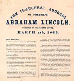 Lincoln's Second Inaugural Address