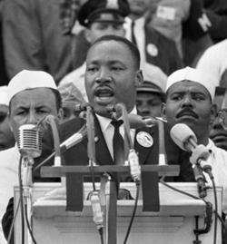 MLK at March on Washington