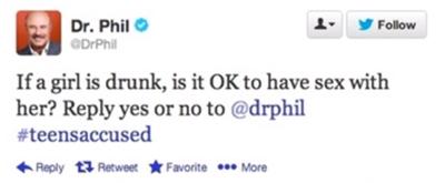 Dr. Phil Tweet