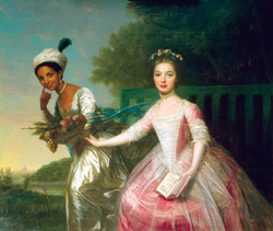 Painting of Dido Elizabeth Belle