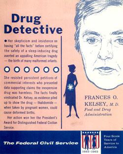 Francis O. Kelsey, Drug Detective