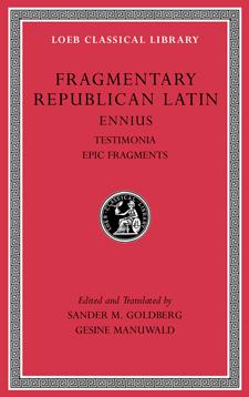 Fragmentary Republic Latin, Volume I