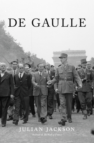 Cover of De Gaulle, by Julian Jackson, from Harvard University Press