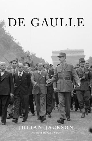 Cover of De Gaulle, by Julian Jackson, from Harvard University Press
