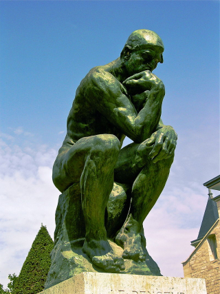 The Thinker, statue by Rodin
