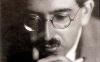 Photo of Walter Benjamin