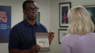 Scene from The Good Place