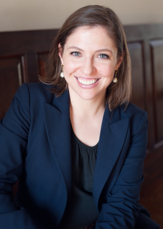 Photo of Lindsay M. Chervinsky, author of The Cabinet: George Washington and the Creation of an American Institution, Harvard University Press / Beth Wood Photography