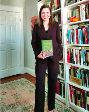 Photo of Lindsay Chervinsky, author of The Cabinet: George Washington and the Creation of an American Institution / Harvard University Press