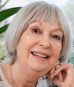Photo of Jacqueline Mitton, coauthor of Vera Rubin: A Life / Harvard University Press